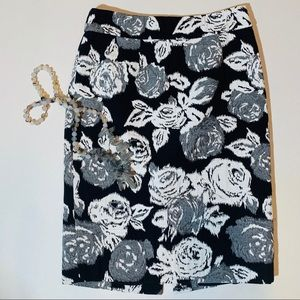 2 for $30: BR black/grey/white pencil skirt